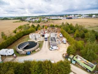 Création d'un Bassin de Stockage Restitution sur la station d'épuration de Méré